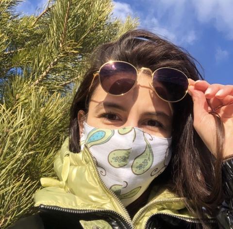 Маски защитные из муслина