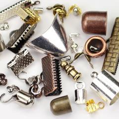 Концевики для лент, шнуров и маскировки кримпов и узелков