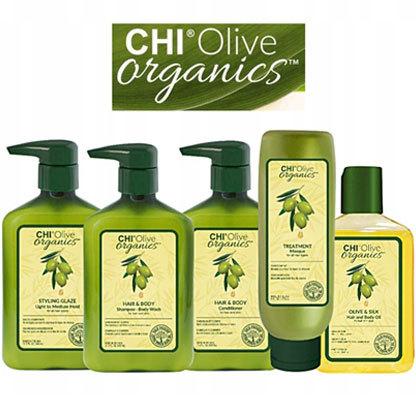 Olive Organics - Органическая линия на основе масла оливы