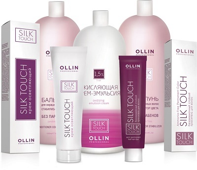Ollin SILK TOUCH - COLOR CREAM Безаммиачный стойкий краситель