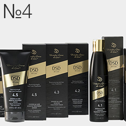 Серия №4 - Для восстановления и снижения выпадения волос