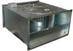 Прямоугольные канальные промышленные вентиляторы