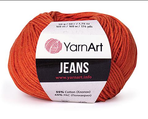 Jeans (55% хлопок, 45% акрил, 50г/160м) 3 BYN
