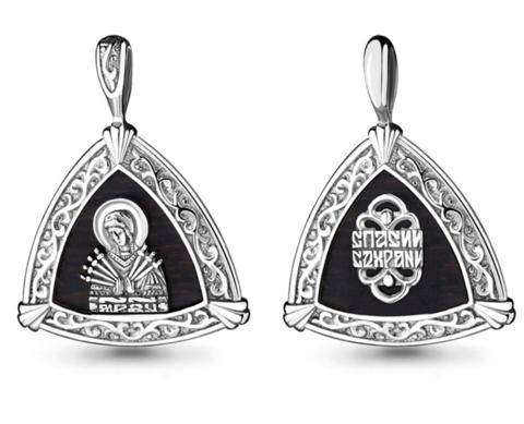 Нательные иконы из серебра
