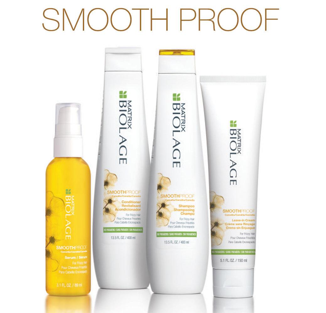 SmoothProof - Для придания гладкости вьющимся и непослушным волосам