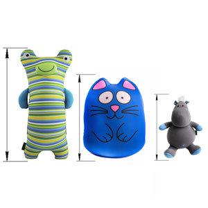 Средние мягкие игрушки и подушки