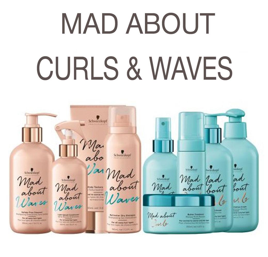 Mad About Curls & Waves - Уход за кудрявыми и волнистыми волосами