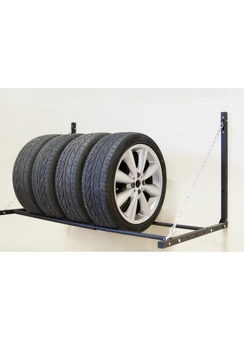 Настенные кронштейны и полки для колес