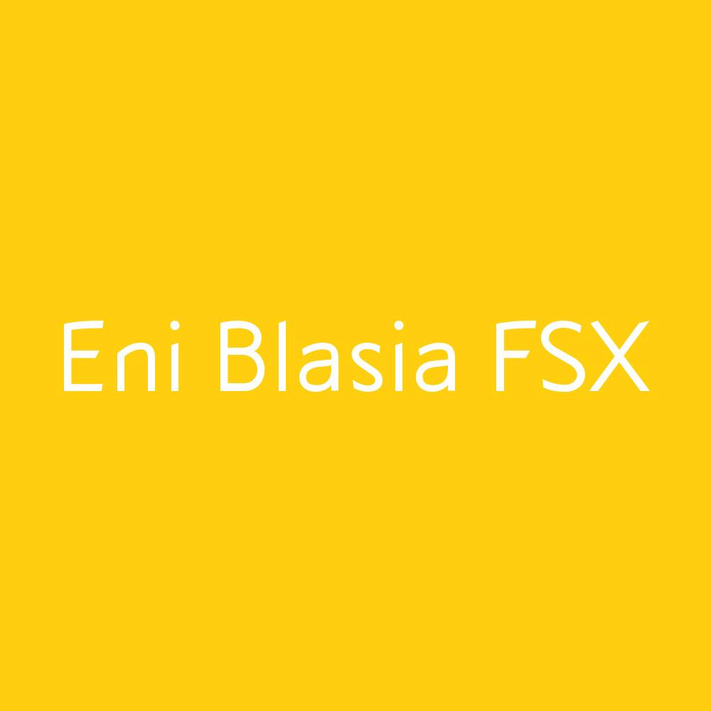 Eni Blasia S/SX/FSX