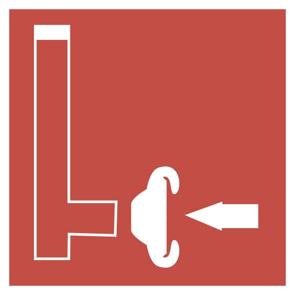 Картинка пожарный знак сухотруб