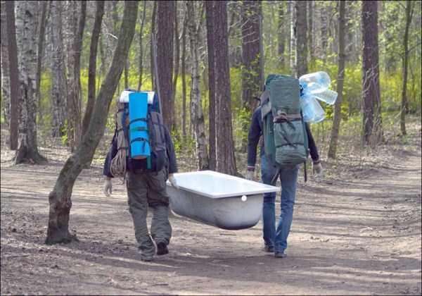 Гигиена и комфорт в походе