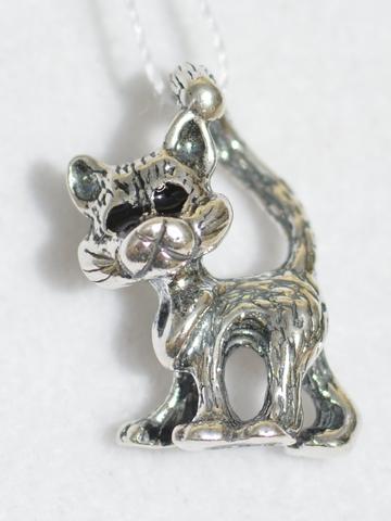 Кошки из серебра