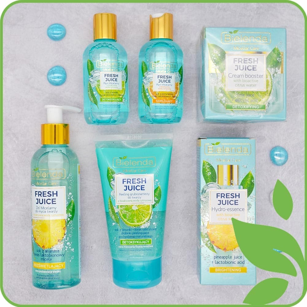 Fresh Juice осветляющие средства для лица