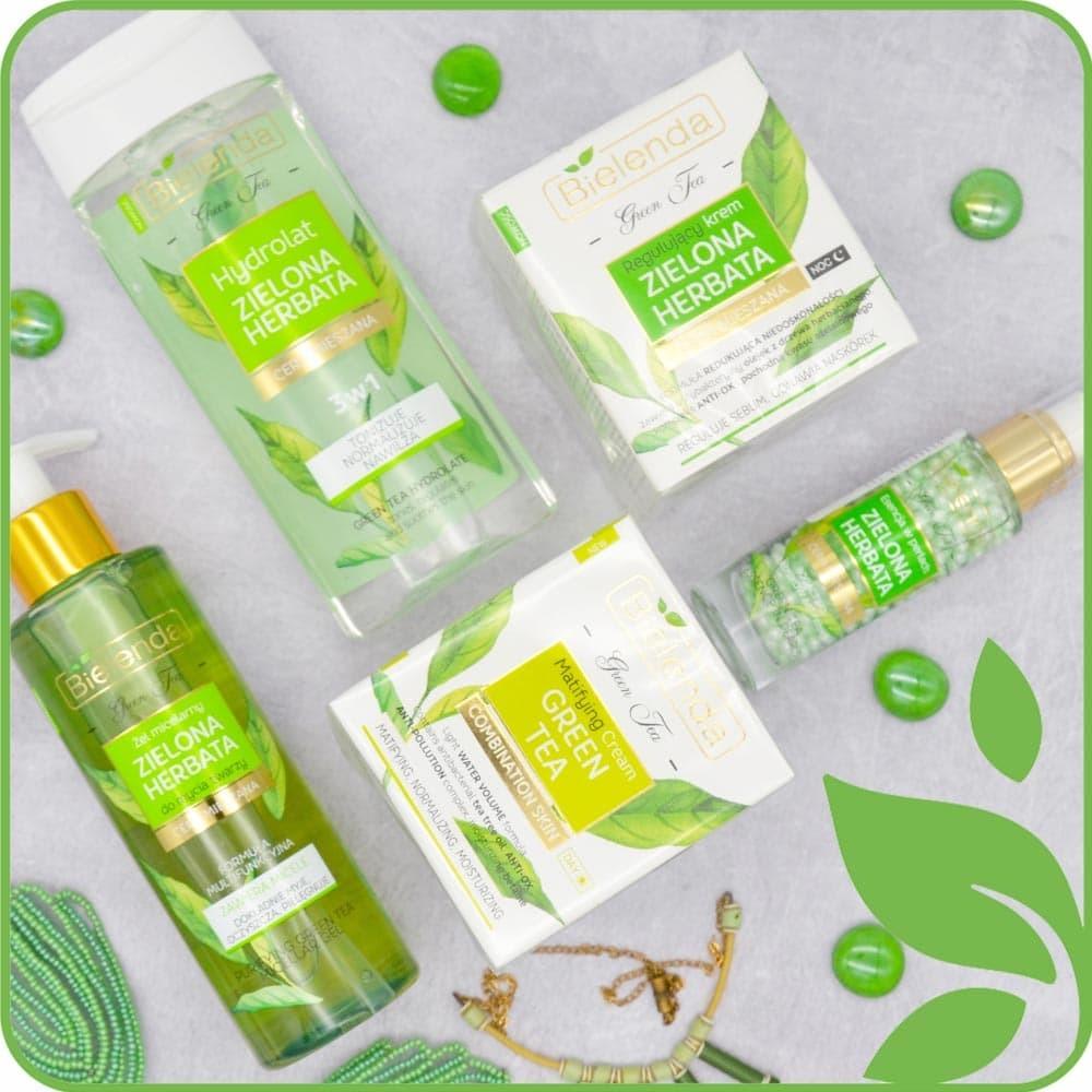 Серия Green Tea Line для ухода за комбинированной кожей