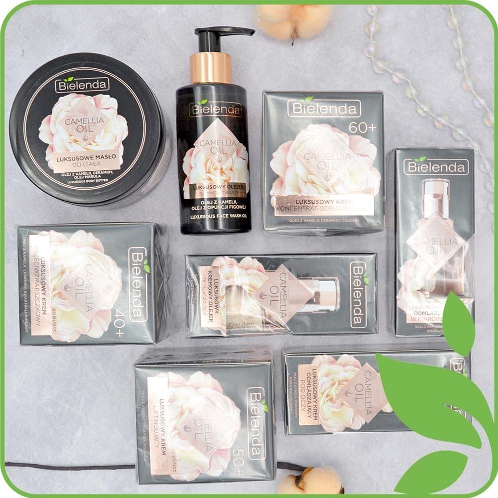Серия Camellia Oil для ухода за зрелой и чувствительной кожей