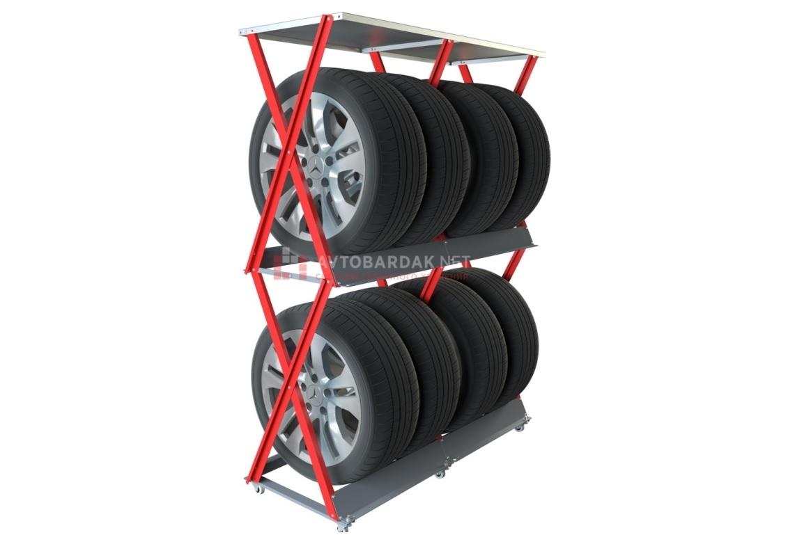 Напольные стеллажи для шин