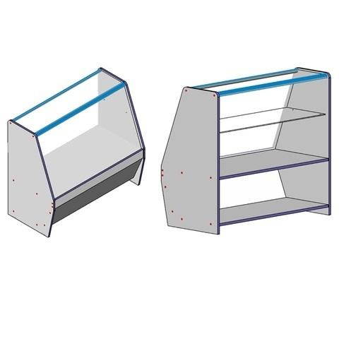 Прилавки и витрины