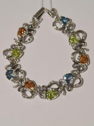 Серебряные узкие браслеты