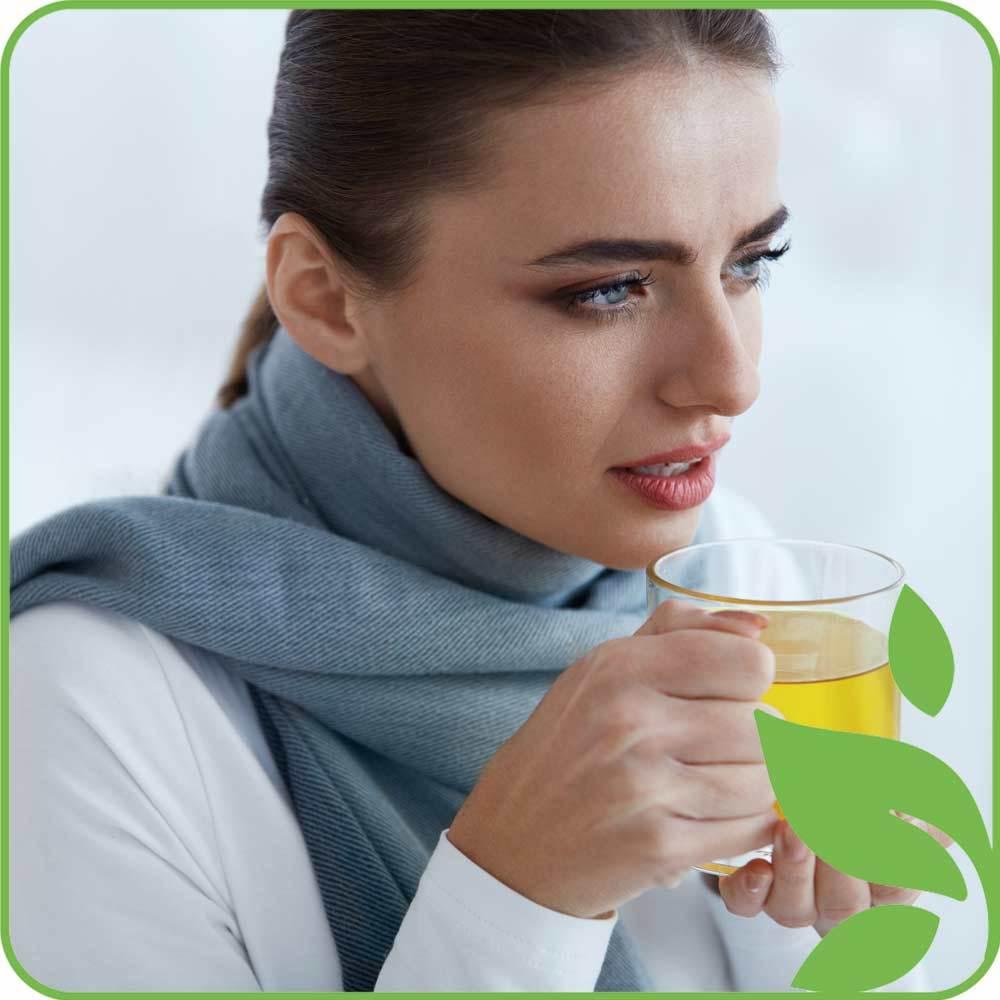 При гриппе и простуде