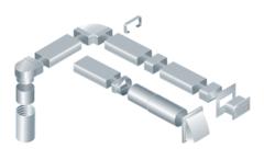 150х75 мм. Прямоугольное сечение