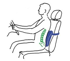 Подушки на сиденье и под спину