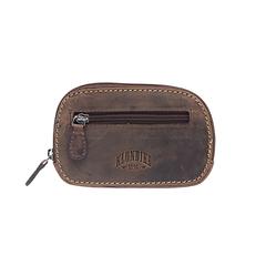 Ключница Klondike Yukon, коричневая, 11,5х2х7,5 см