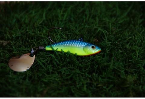 Тейл-спинер Top Tail ручной работы Fire Fish цвет 005