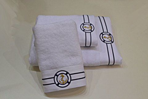 MARINE-МАРИНЕ полотенце махровое Soft Cotton (Турция)