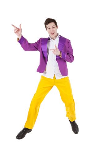 Костюм Стиляга с фиолетовым пиджаком