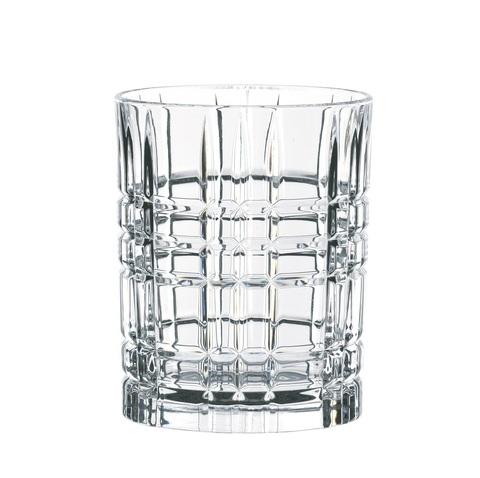 Набор из 4-х бокалов Whisky Square, 345 мл