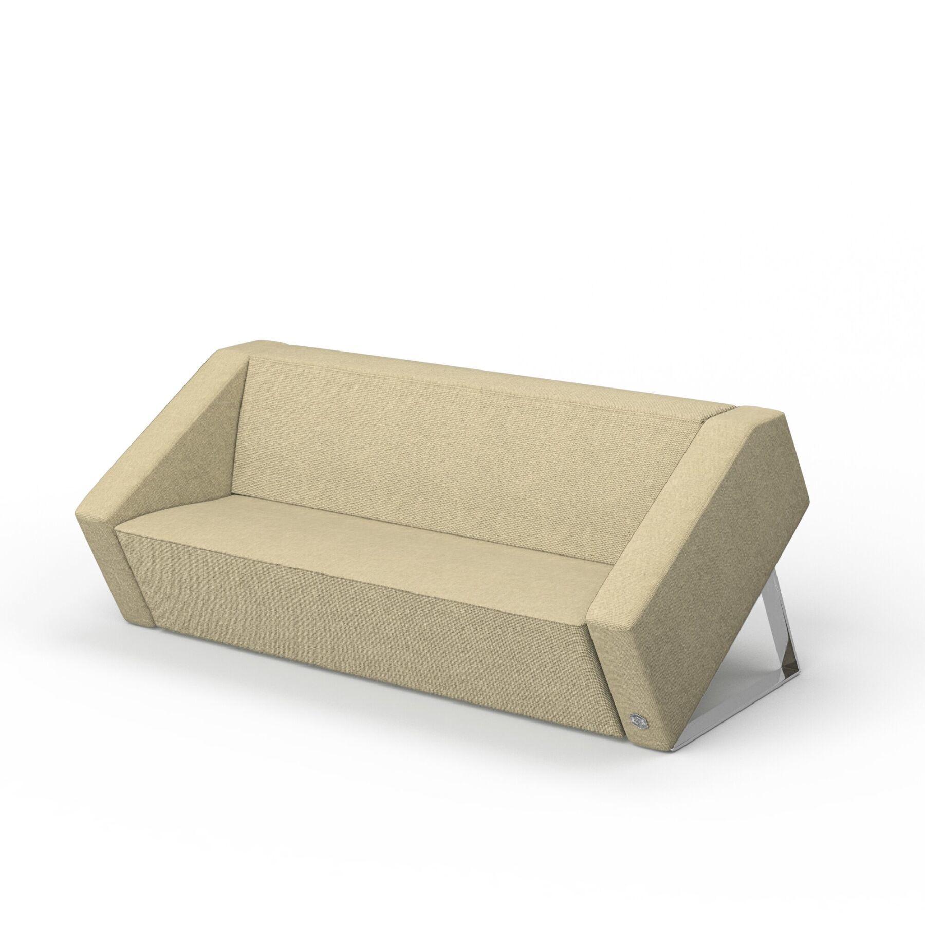 Трехместный диван KULIK SYSTEM PLANE Ткань 3