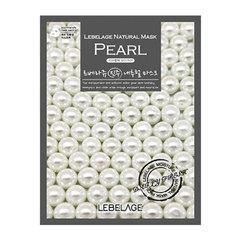 Lebelage Pearl Natural Mask - Тканевая маска для лица с экстрактом жемчуга