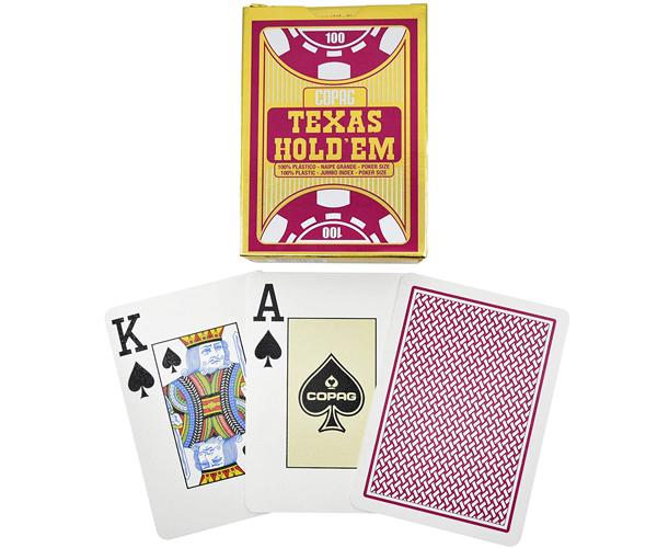 Карты Copag Texas Holdem Jumbo Index