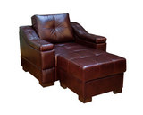 Кресло и пуф 60х60 Макс П5