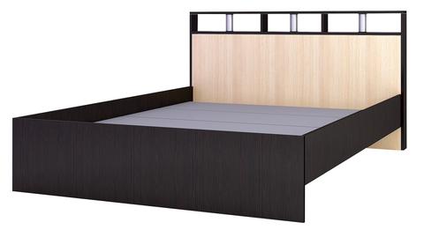 Кровать с осн.ДСП 1,4 Ненси-2 ЛДСП ТЭКС венге/дуб молочный