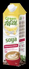 """Растительный напиток """"Green Milk Professional"""" соя 1 л"""