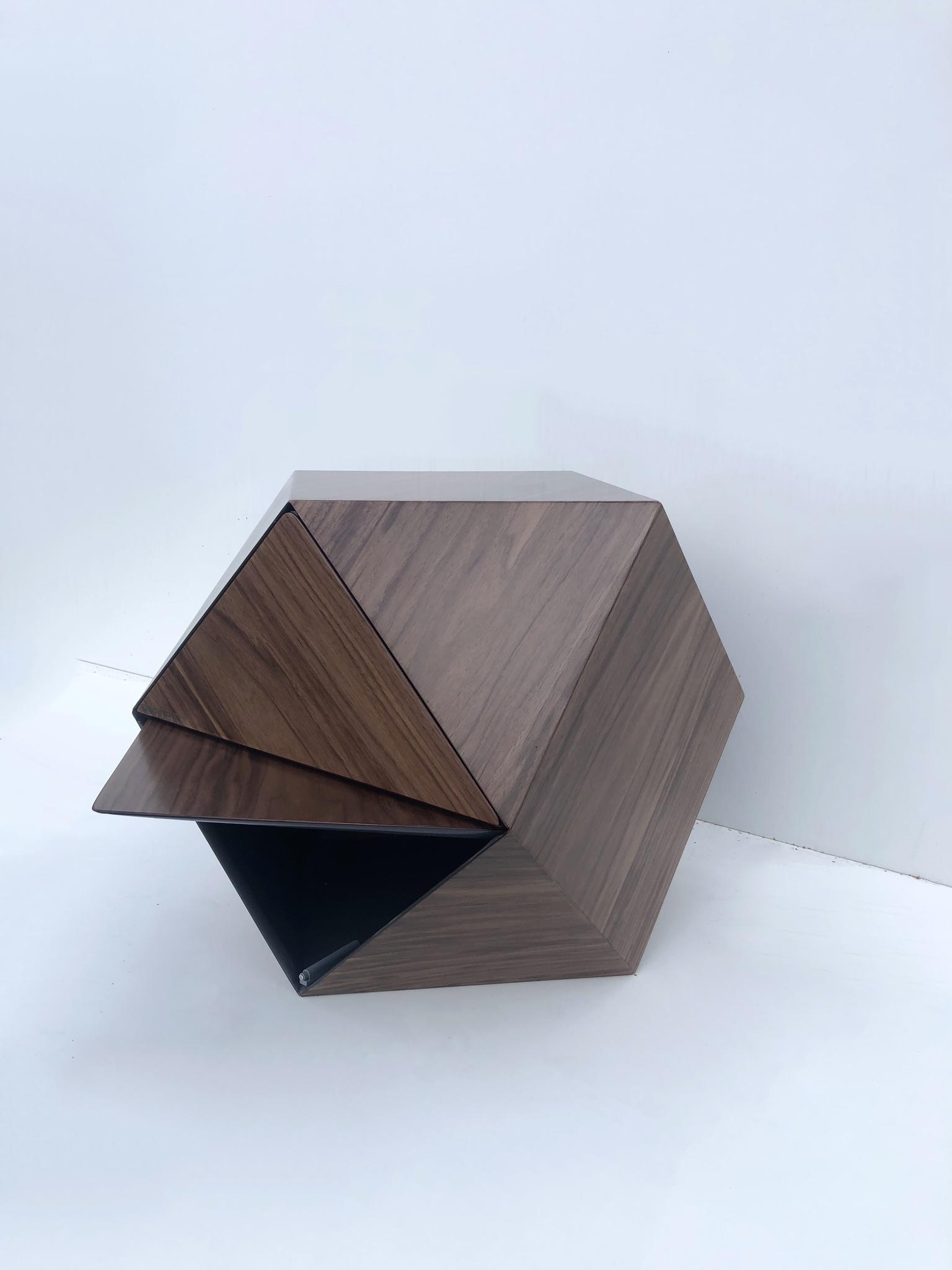 Тумба «Многогранник» с ящиками
