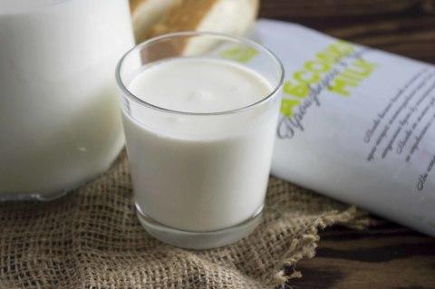 Обезжиренное молоко Из Атлашево