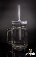 Баночка для напитков «Star», 460 мл, прозрачная, фото 2