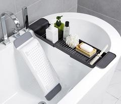 Полка для ванны раздвижная