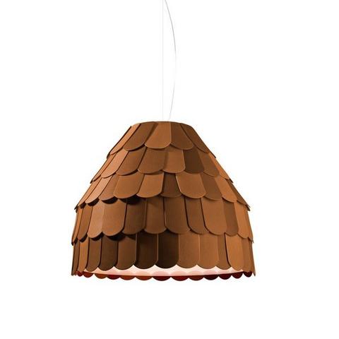 Подвесной светильник копия Roofer F12 A01 by Benjamin Hubert (коричневый)