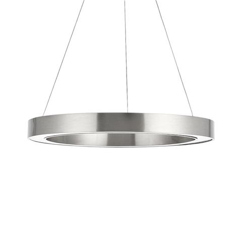 Подвесной светильник копия Light Ring by HENGE D100 (никель)