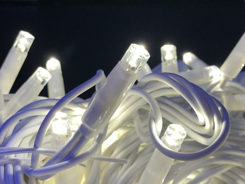 Гірлянда-нитка Вулична String light 100 LED CX 10 м. біла