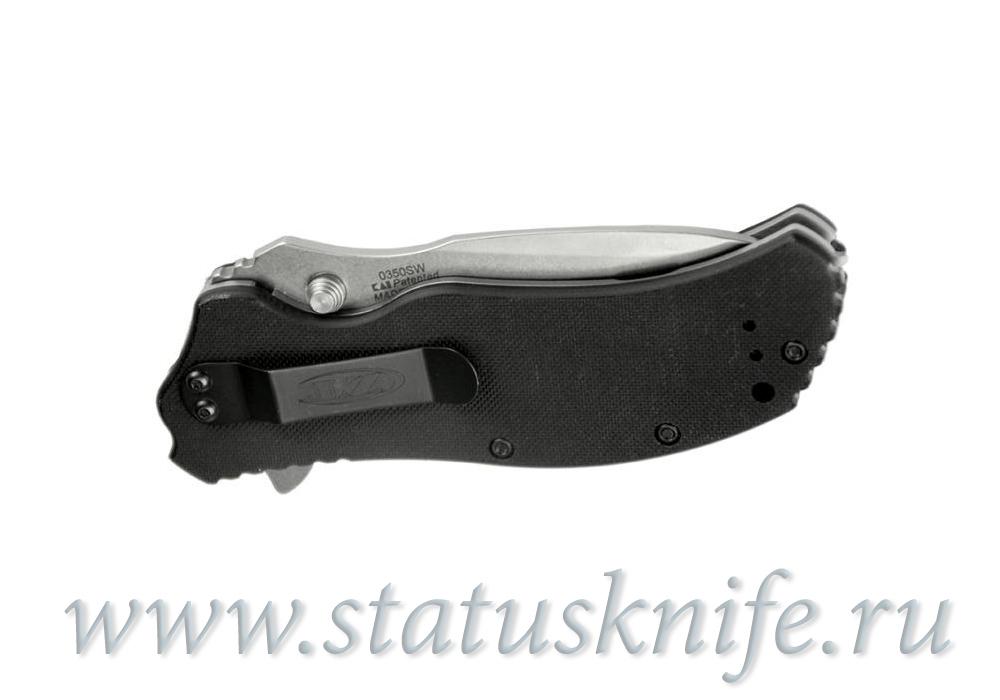 Нож Zero Tolerance 0350 ZT0350SW StoneWash - фотография