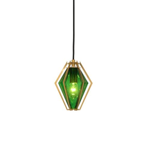 Подвесной светильник копия Harlow 1 by Gabriel Scott (зеленый)