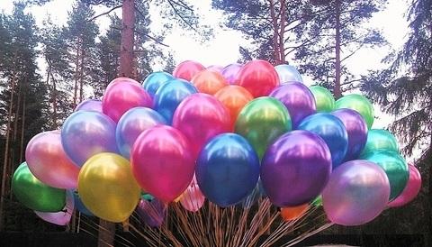Воздушные шары Металлик (фото 3)
