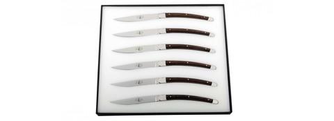 Набор из 6 столовых ножей, Forge de Laguiole, дизайн Christian GHIONT6 GHION FRD*