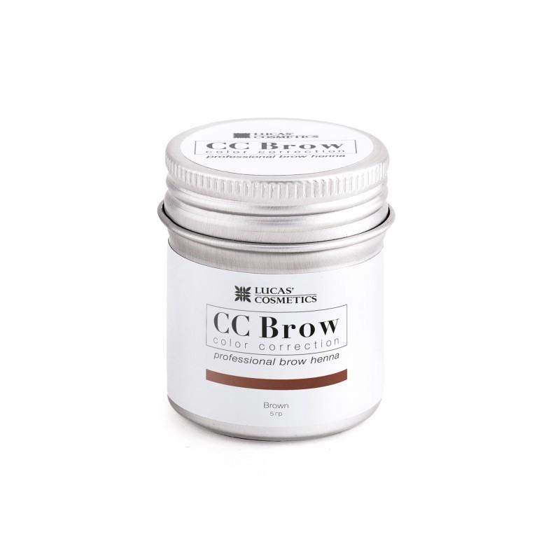 Хна для бровей CC Brow 5гр в баночке Brown Коричневый