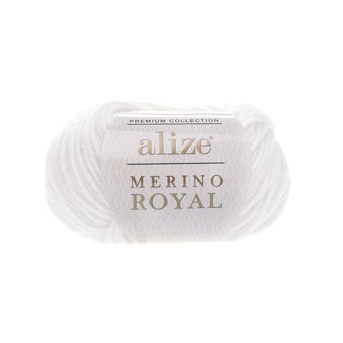 Alize Merino Royal белый 55