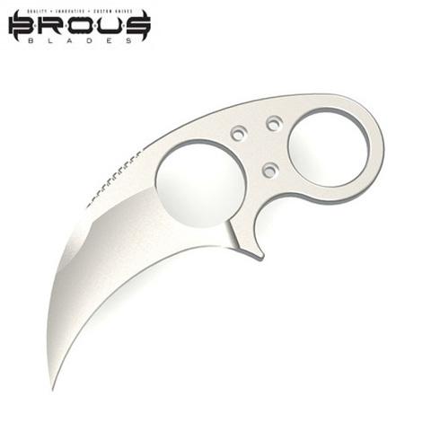 Нож Brous Blades модель Silent Soldier SS Hawk Satin